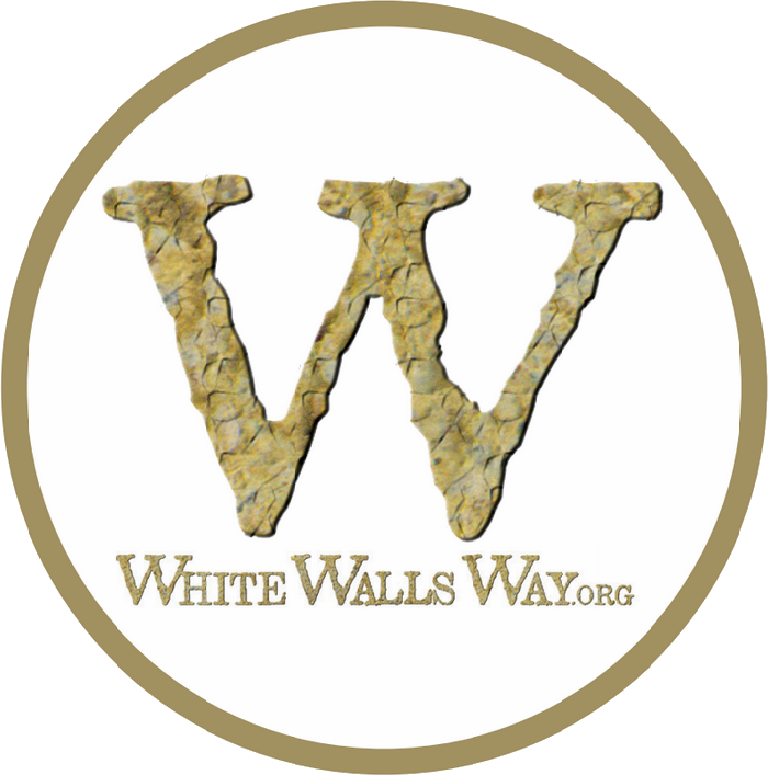 White Walls Way waymarker